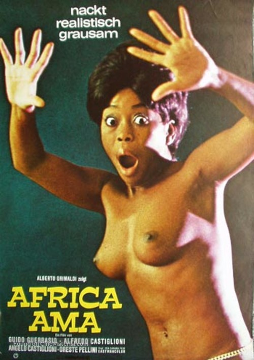 Africa ama - German Movie Poster