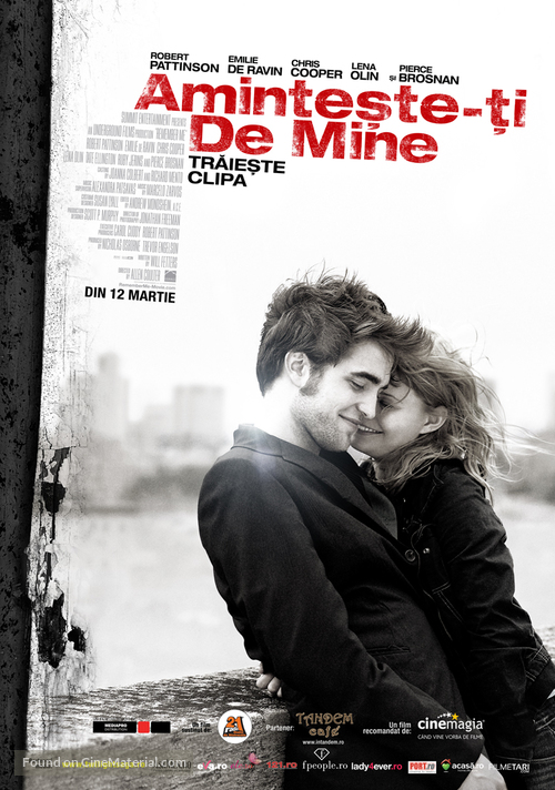 Remember Me - Romanian Movie Poster