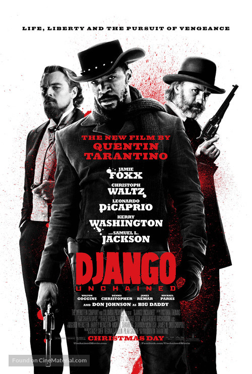 Django Unchained - Theatrical movie poster