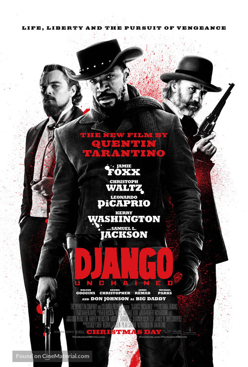Django Unchained - Theatrical poster