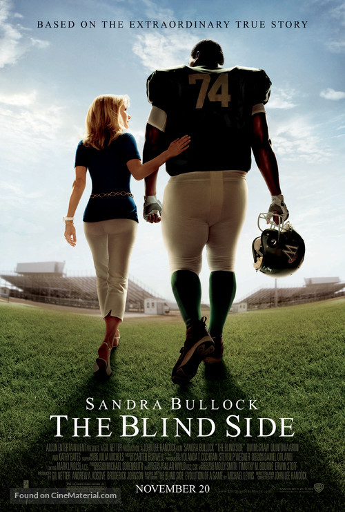 The Blind Side - Movie Poster
