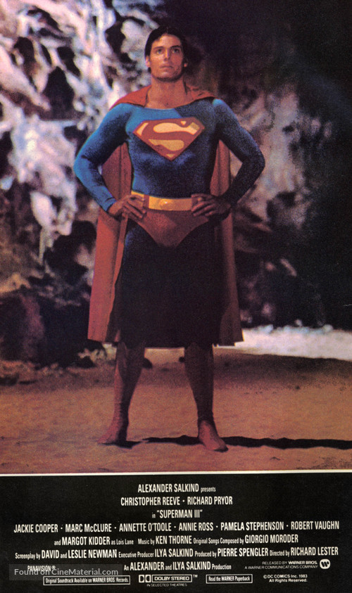 Superman III - Movie Poster