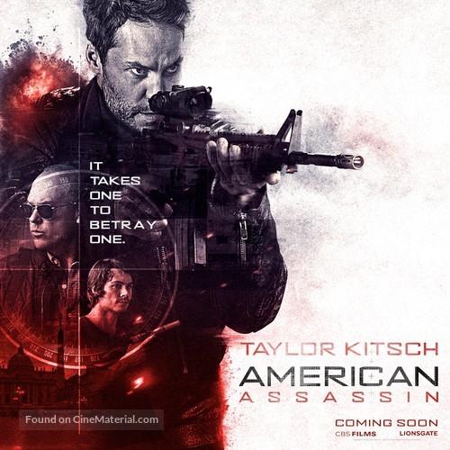 American Assassin - Movie Poster