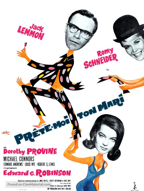 Good Neighbor Sam - French Movie Poster