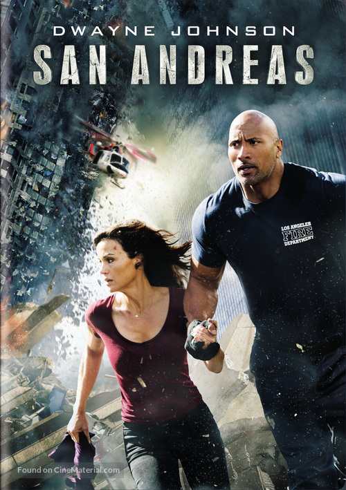 San Andreas - DVD movie cover