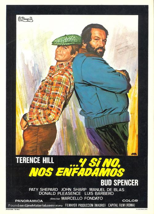 Watch Out We're Mad - Spanish Movie Poster