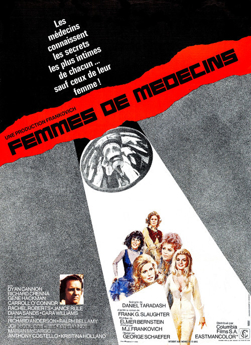 Doctors' Wives - French Movie Poster