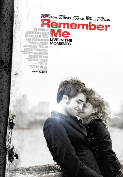 Remember Me - Canadian Movie Poster