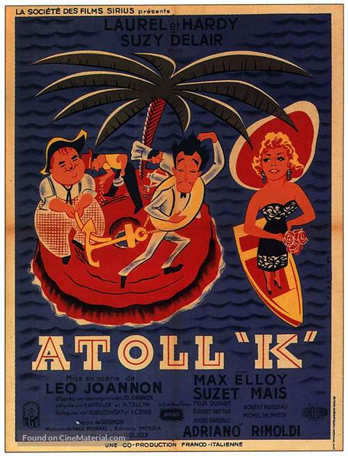 Atoll K - French Movie Poster