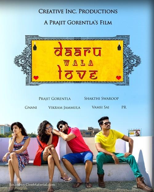 Daaru Wala Love - Indian Movie Poster