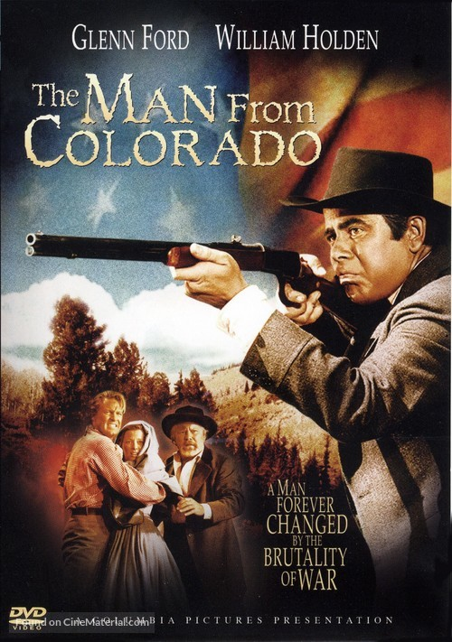 The Man from Colorado - DVD movie cover