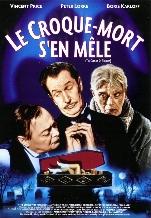 The Comedy of Terrors - French DVD cover