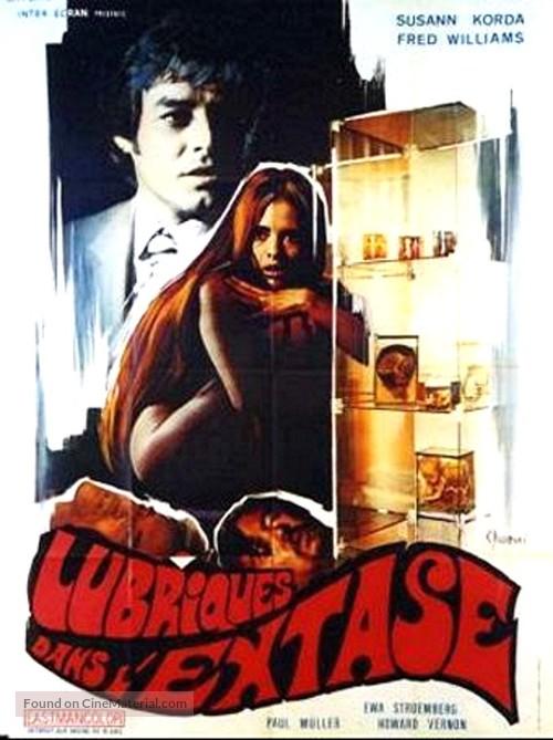 Sie tötete in Ekstase - French Movie Poster