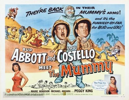 Abbott and Costello Meet the Mummy - Movie Poster