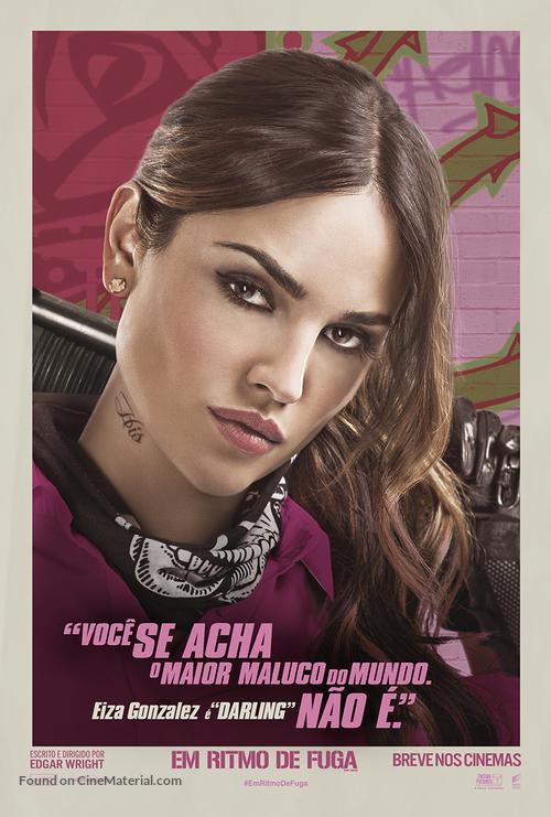 Baby Driver - Brazilian Movie Poster