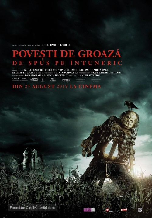 Scary Stories to Tell in the Dark - Romanian Movie Poster