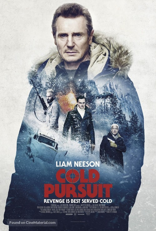 Cold Pursuit - British Movie Poster