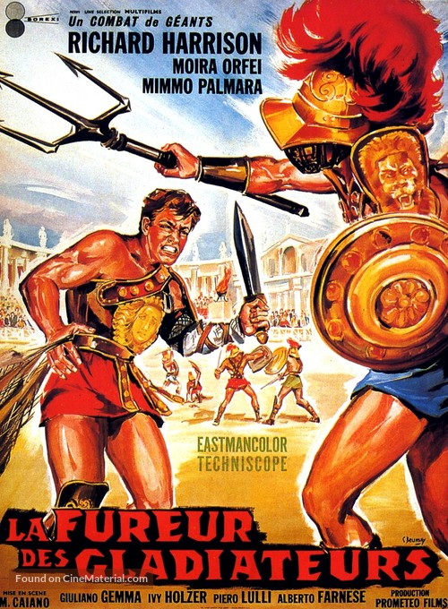 I due gladiatori - French Movie Poster
