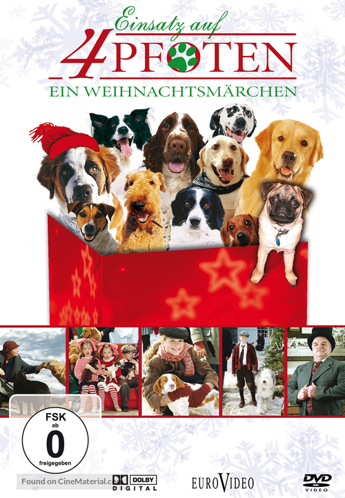 12 Dogs Of Christmas.The 12 Dogs Of Christmas German Movie Cover