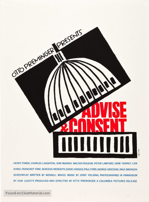 Advise & Consent - Movie Poster