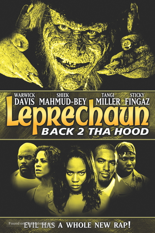 Leprechaun 6 - DVD cover