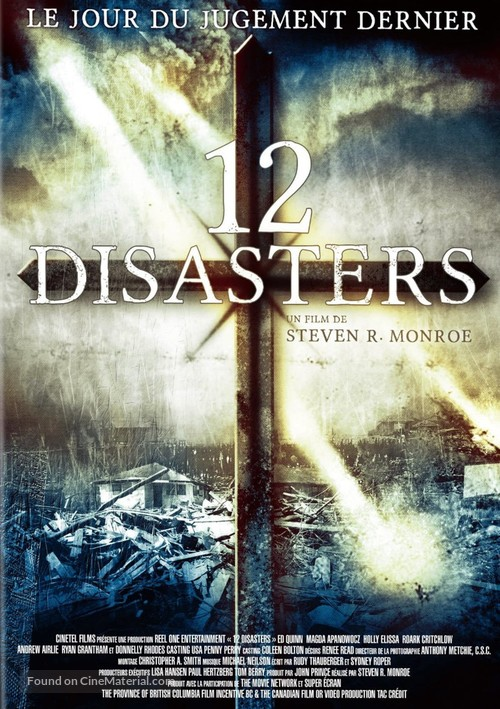 12 Disasters Of Christmas.The 12 Disasters Of Christmas 2012 French Dvd Movie Cover