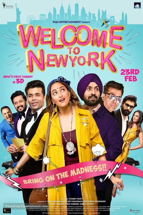 Welcome to New York - Indian Movie Poster
