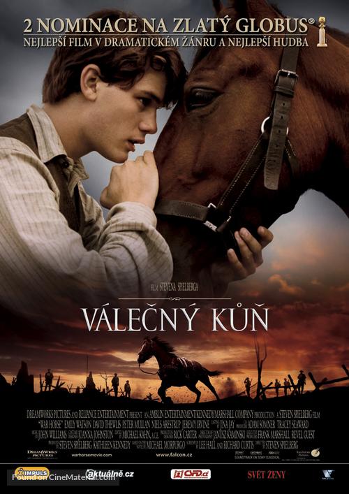 War Horse - Czech Movie Poster