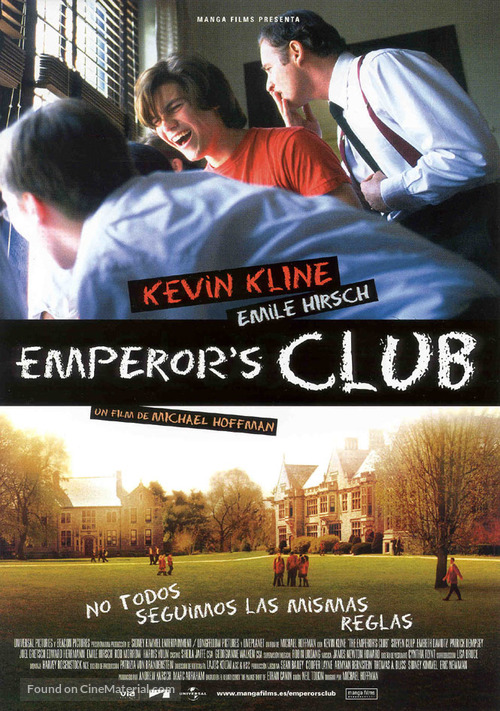 The Emperor's Club - Spanish poster