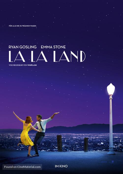 La La Land - German Movie Poster