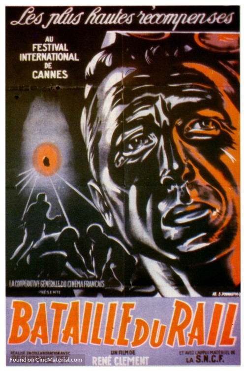 La bataille du rail - French Movie Poster