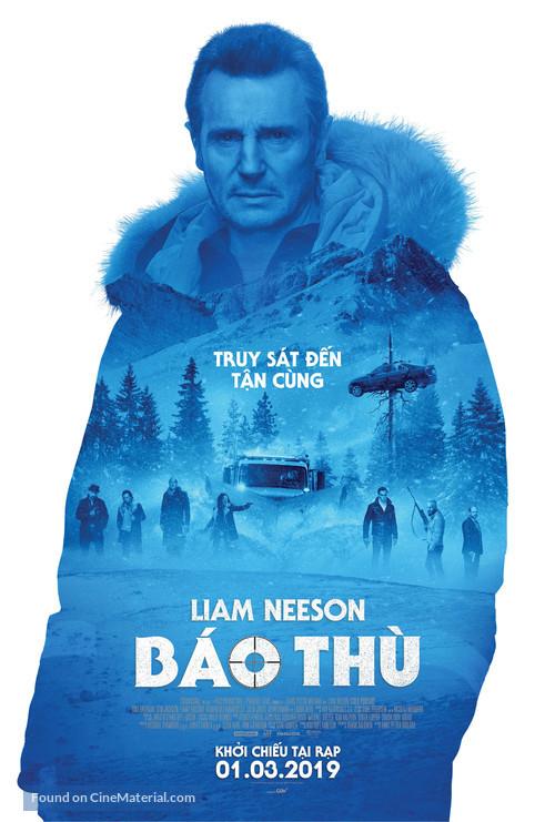 Cold Pursuit - Vietnamese Movie Poster