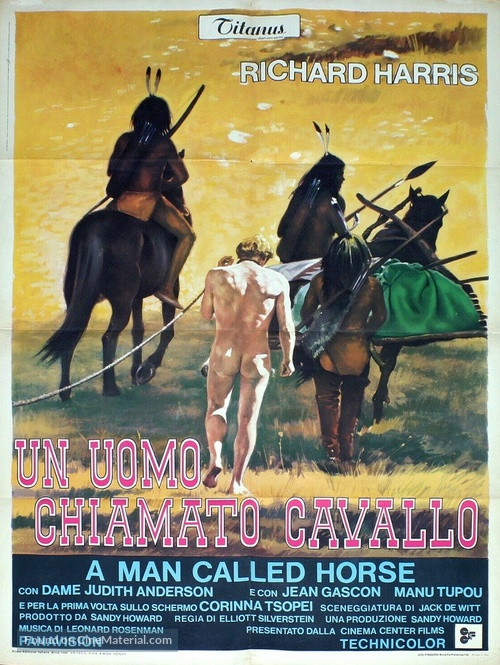A Man Called Horse - Italian Movie Poster