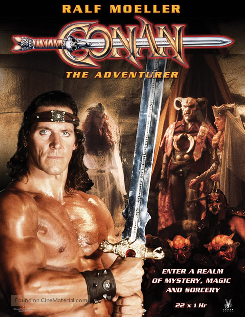 """Conan"" - DVD movie cover"