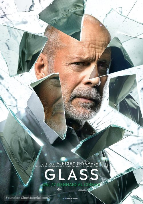 Glass - Italian Movie Poster