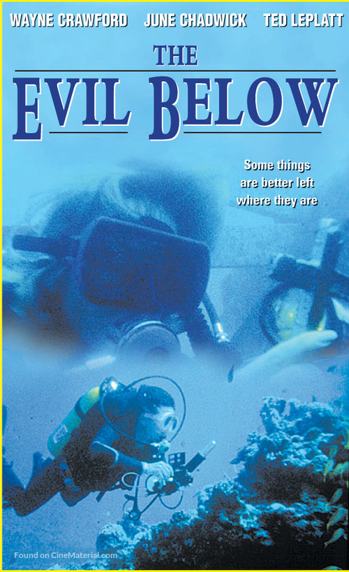 The Evil Below - VHS cover