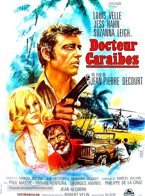 Docteur Caraïbes - French Movie Poster