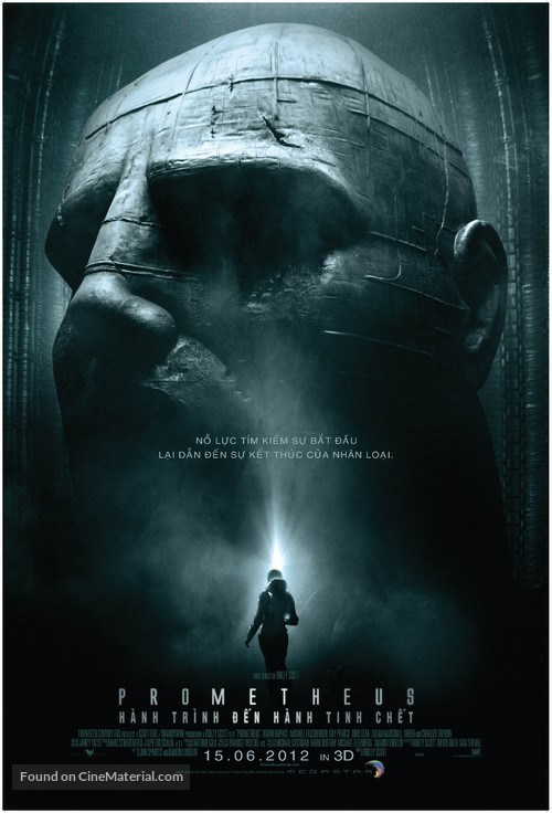Prometheus - Vietnamese Movie Poster