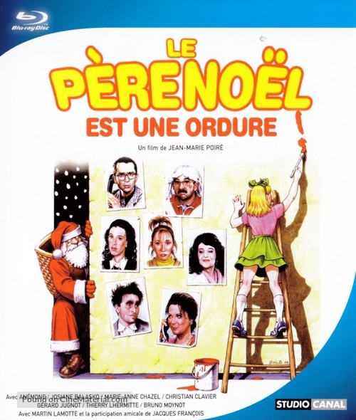 Le père Noël est une ordure - French Movie Cover