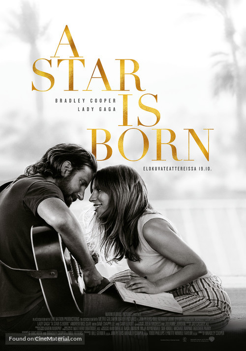 A Star Is Born - Finnish Movie Poster