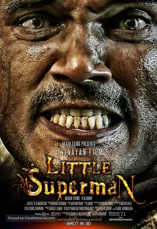 Little Superman - Indian Movie Poster