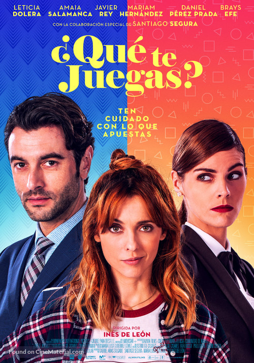 ¿Qué te juegas? - Spanish Movie Poster