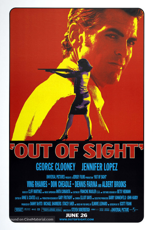 Out Of Sight - Movie Poster