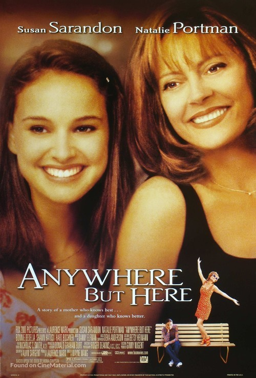Anywhere But Here - Movie Poster