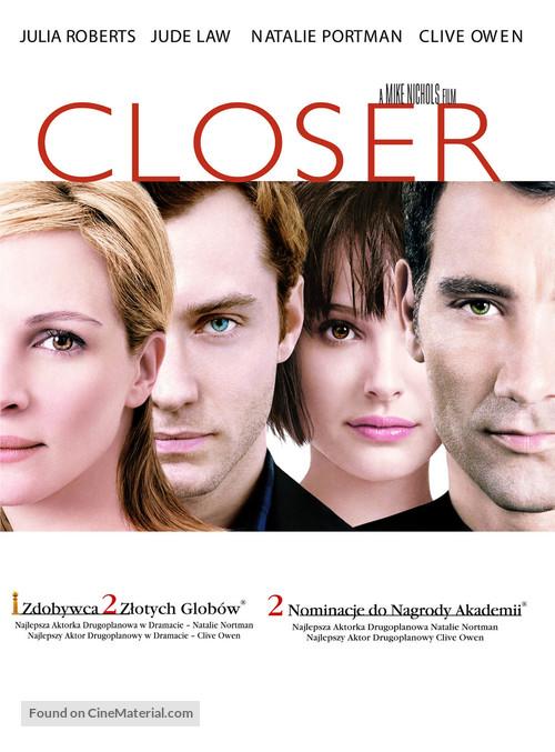 Closer - Polish poster