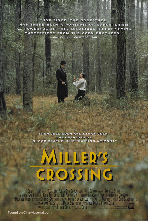 Miller's Crossing - Movie Poster