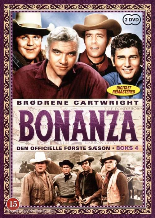 """""""Bonanza"""" - Danish DVD cover"""