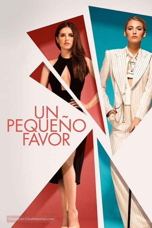 A Simple Favor - Spanish Movie Cover