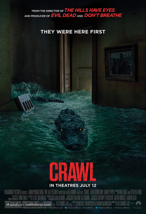 Crawl - Movie Poster