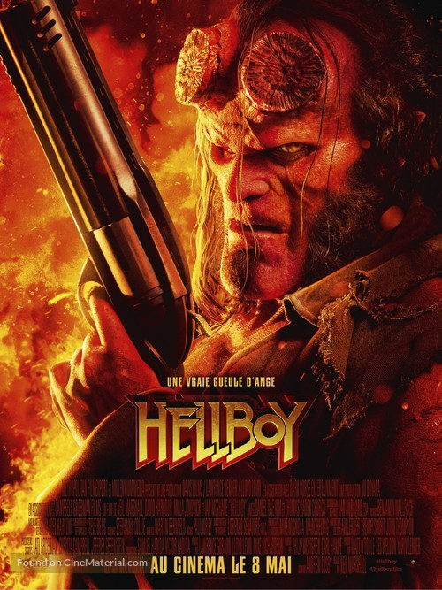 Hellboy - French Movie Poster